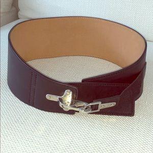 Genuine Leather Riding Belt